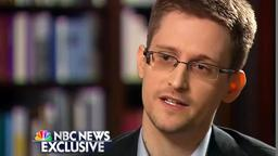 Edward Snowden im NBC-Interview