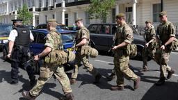 Soldaten in London | Bildquelle: REUTERS