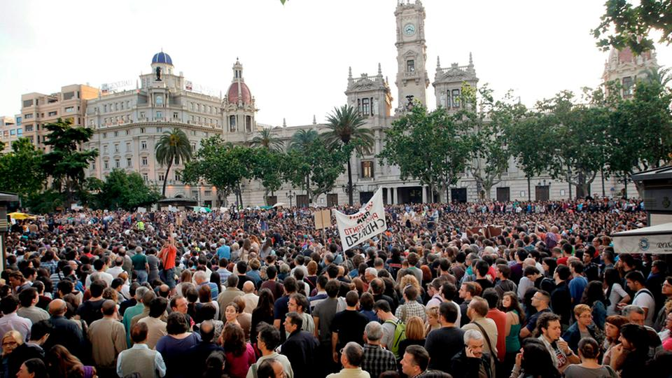 Proteste in Valencia