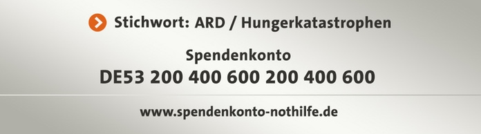 Spendentafel: Hungerkatastropen
