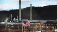 Fabrik der United States Steel Corporation in Clairton, Pennsylvania
