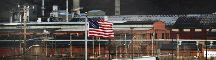 Fabrik der United States Steel Corporation in Clairton, Pennsylvania | Bildquelle: AFP