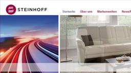 Moebel Steinhoff Beiges Sofa