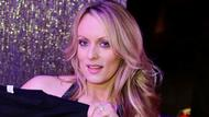Pornodarstellerin Stephanie Clifford, bekannt als Stormy Daniels, posiert in einem Club in New York. 23.02.2018