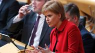 Nicola Sturgeon im schottischen Parlament in Edinburgh