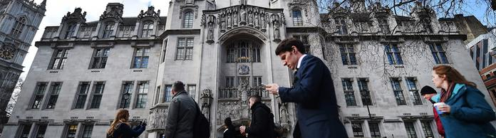 Supreme Court in London | Bildquelle: picture alliance / dpa
