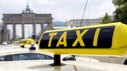 Taxis in Berlin | Bildquelle: picture alliance / dpa