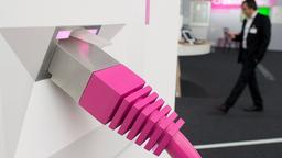 Messestand der Telekom | Bildquelle: picture alliance / dpa