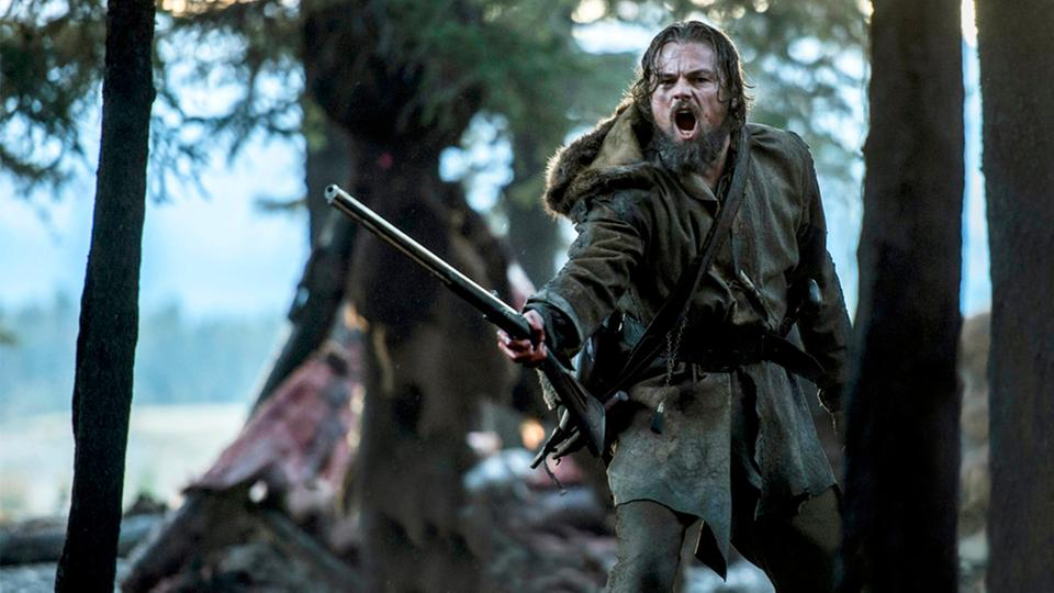 "Leonardo DiCaprio in ""The Revenant"" 