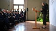 Theresa May bei ihrer Brexit-Rede in Florenz