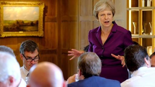 Brexit-Strategie: May will Freihandelszone mit der EU