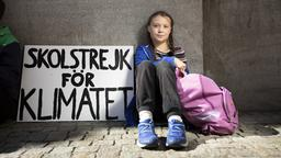 Greta Thunberg | Bildquelle: picture alliance / DN
