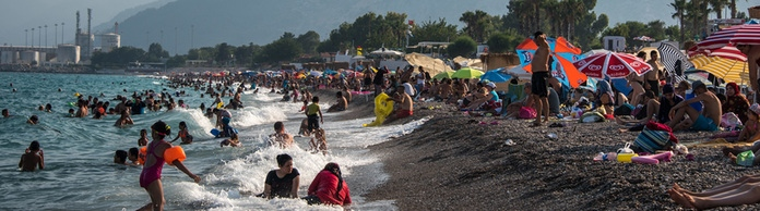 Strandleben in Antalya | Bildquelle: picture alliance / NurPhoto