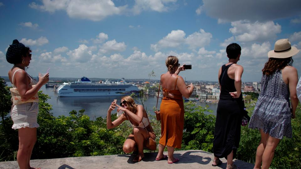 Touristinnen in Havanna | Bildquelle: REUTERS