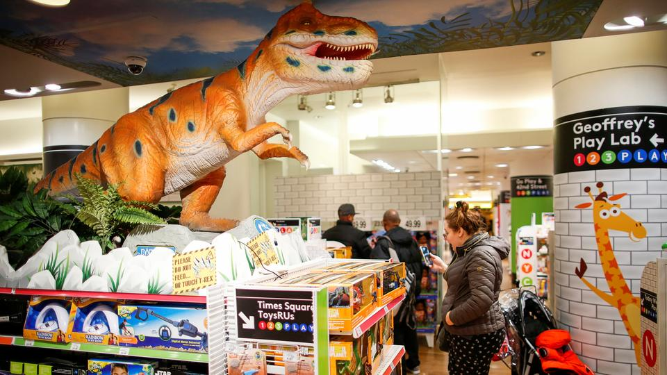 Spielwarenladen Toys R Us in New York | Bildquelle: REUTERS