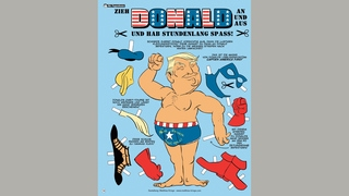 Trump im Comic