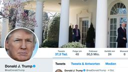 Twitter-Account von Donald Trump | Bildquelle: Twitter Donald Trump Screenshot