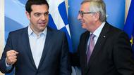 Tsipras (links) und Juncker