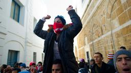 Proteste in Tunis
