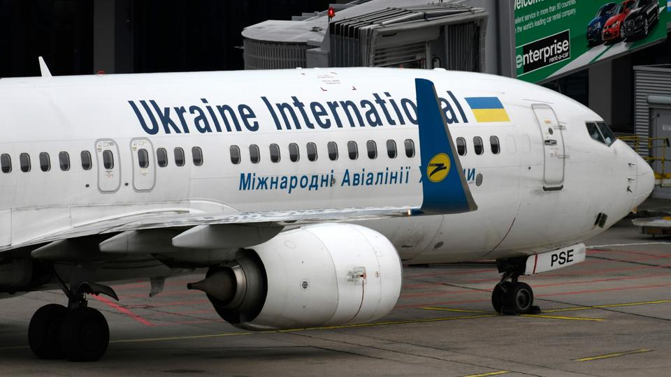 Eine Boeing 737 der Airline Ukraine International (Archiv) | AFP