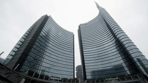 Die Unicredit-Zentrale in Mailand | Bildquelle: REUTERS