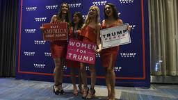 US-Wahl-Parties: Women for Trump
