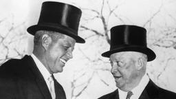 John F. Kennedy und  Dwight David Eisenhower