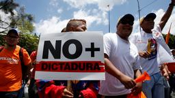 Demonstranten in Venezuela | Bildquelle: REUTERS