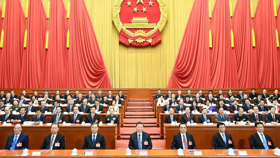 Volkskongress in China | dpa
