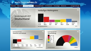 Screenshot Wahlseite