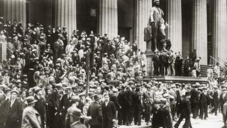 Wallstreet New York 1929