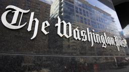 Schriftzug der Washington Post | Bildquelle: picture alliance / AP Photo