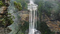 Wasserfall in den Blue Mountains (Australien)