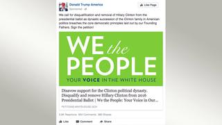 Screenshot Facebook We the People