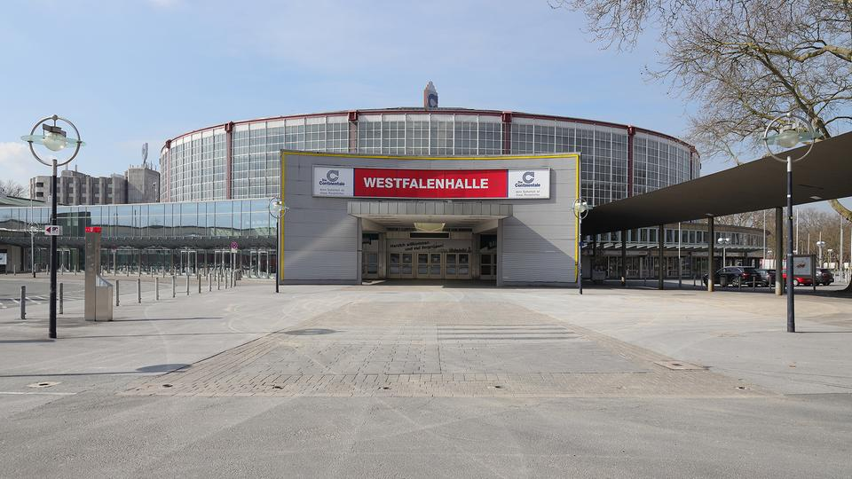 Westfalenhallen in Dortmund | Bildquelle: picture alliance / augenklick/fi