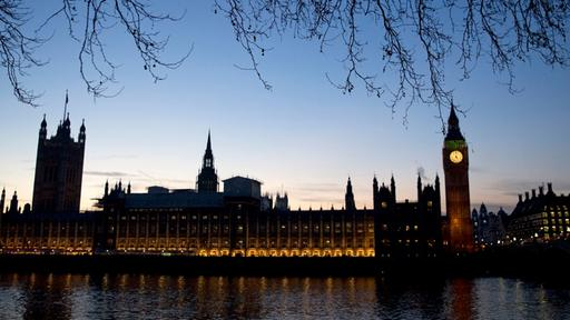 Turm des Westminster-Palasts in London