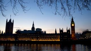 Turm des Westminster-Palasts in London | Bildquelle: AFP