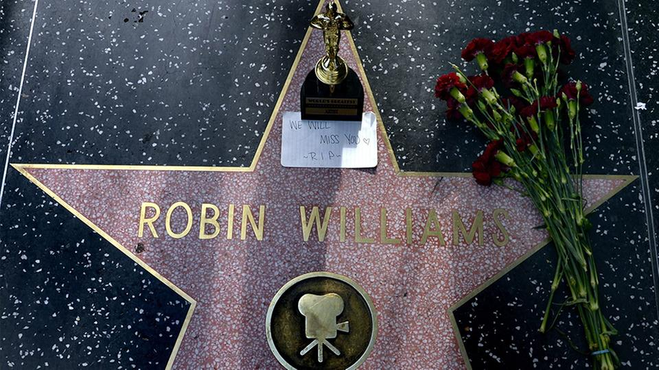 "Stern von Robin Williams am ""Walk of Fame"""