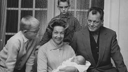 Willy Brandt mit Familie