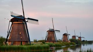 Windmühlen in Holland | Bildquelle: AFP