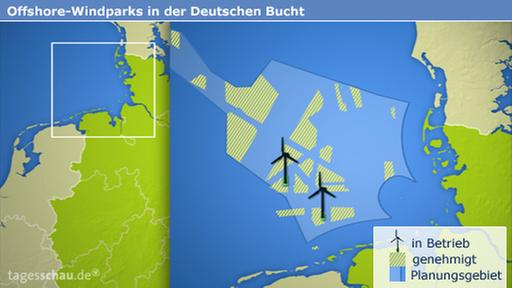 Infografik: Offshore-Windparks