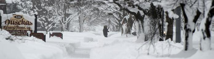 Snow in Pennsylvania | Bildquelle: REUTERS