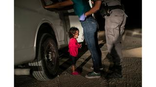 World Press Photo 2019: John Moore, weinendes Mädchen