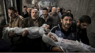 World Press Photo 2013: Siegerfoto Trauerzug in Gaza Stadt