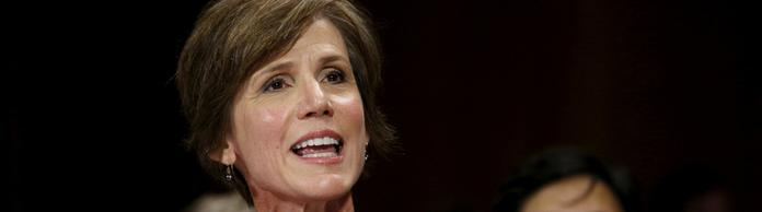 Sally Yates | Bildquelle: REUTERS