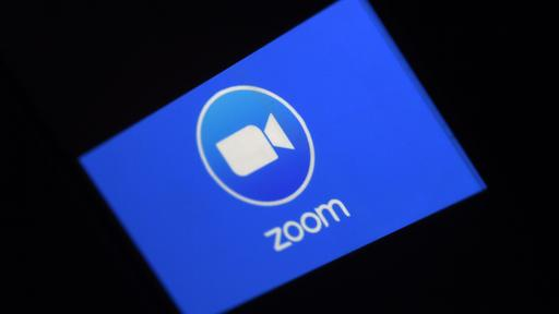 Das Logo der Video-Appp Zoom | Bildquelle: AFP