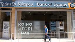 Bank of Cyprus in Nikosia | Bildquelle: dpa