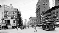 Main Street in New York 1900