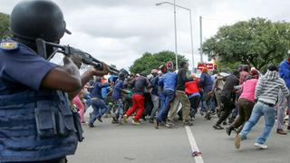 Proteste in Pretoria | Bildquelle: AFP