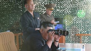 Raketentest in Nordkorea | Bildquelle: REUTERS